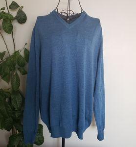 Black Brown 1826 100% Italian Merino wool sweater